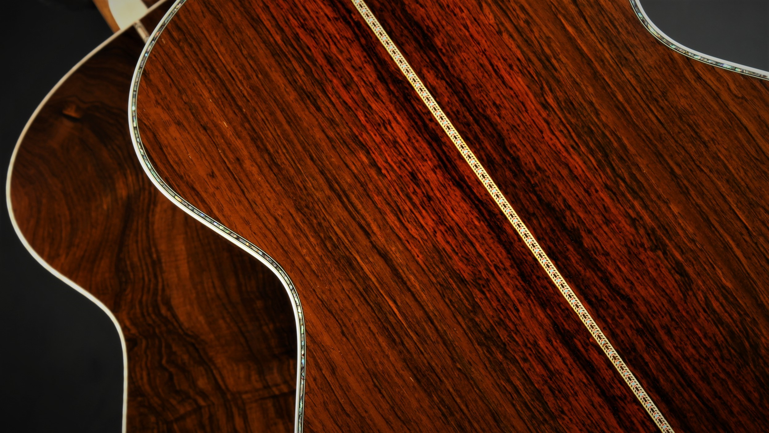 Brazilian Rosewood Acoustic Guitars