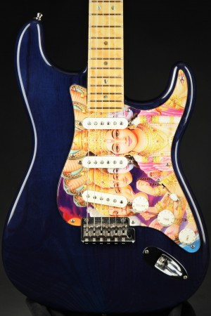Used - Fender Custom Shop Classic Player Stratocaster - Trans Blue (2003)