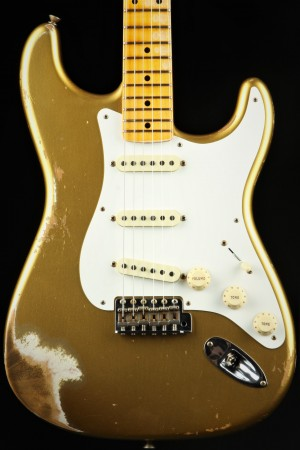 Used - Fender Custom Shop 1958 Heavy Relic Stratocaster - Aged HLE Gold (2019)