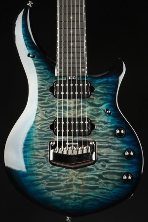 Ernie Ball Music Man Majesty 7 Hydrospace Quilt Top #10/75