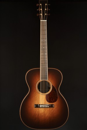 Bourgeois OM Signature Deluxe - Aged Tone Bearclaw/Brazilian