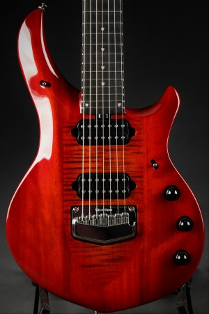 Ernie Ball Music Man Majesty 7 - Red Sunrise