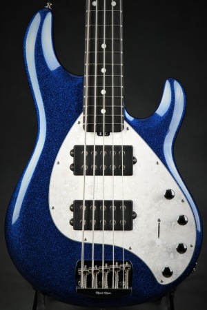 Ernie Ball Music Man StingRay 5 Special HH - Tectronic Blue Sparkle