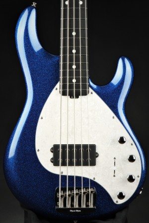 Ernie Ball Music Man StingRay 5 Special H - Tectronic Blue Sparkle