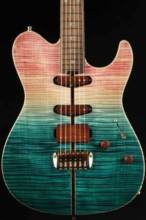 ESP Exhibition Limited 2021 EX21-08 Throbber-CTM - Pink/Turquoise Fade