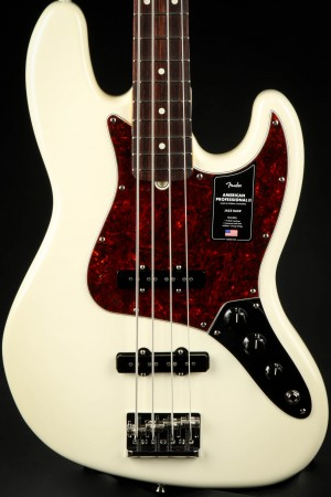 Fender American Professional II Jazz Bass, Rosewood Fingerboard - Olympic White