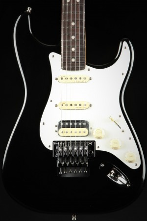 Fender American Ultra Luxe Stratocaster Floyd Rose HSS, Rosewood - Mystic Black