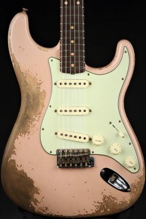 Fender Custom Shop Limited '60/'63 Stratocaster Super Relic - Dirty Shell Pink