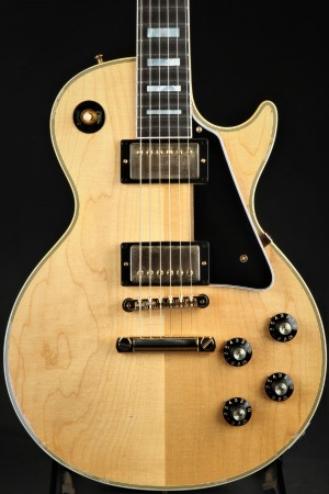 Used - Gibson Custom Shop '68 Les Paul Custom Lightly Aged Natural