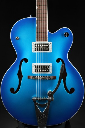 Gretsch G6120T-BSHR Brian Setzer Signature Hot Rod Hollow Body with Bigsby®, Rosewood Fingerboard - Candy Blue Burst