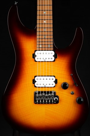 Ibanez Limited Edition AZ Prestige AZ2402FFRBB - Regal Brown Burst