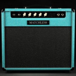Matchless Laurel Canyon - 1X12 - Shower Curtain Turquoise/Silver