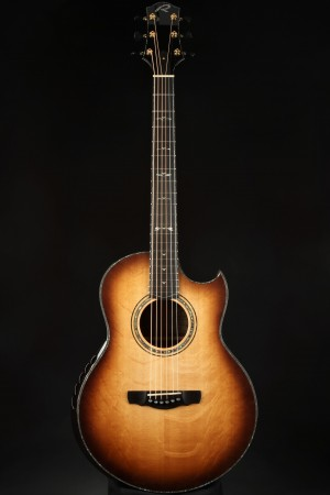 Ryan Paradiso Grand Concert - Master Grade Bear Claw Sitka Spruce/Nicaraguan Rosewood