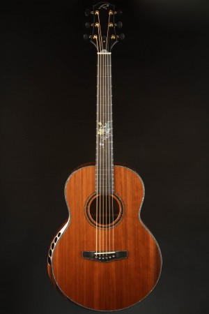 Ryan Paradiso Grand Concert Quilted Mahogany/Sinker Redwood