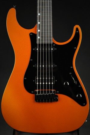 Suhr Standard Roasted Chambered - Candy Orange Metallic