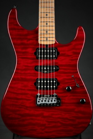 Suhr Eddie's Guitars Exclusive Roasted Standard - Trans Red