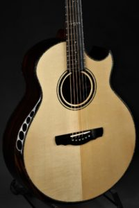 Ryan Cathedral Grand Fingerstyle - Adi/Malaysian Black Wood/NAMM Instrument